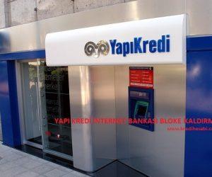 Yapı Kredi İnternet Bankası Bloke Oldu!