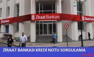Ziraat Bankası Kredi Notu Öğrenme