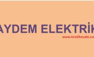 AYDEM Elektrik Faturası Ödeme