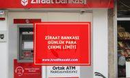 Ziraat Bankası Günlük Para Çekme Limiti