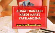 Ziraat Bankası Kredi Kartı Borç Yapılandırma