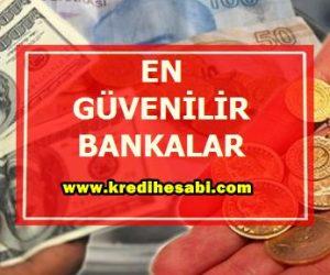 En Güvenilir Bankalar