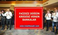 Faizsiz Düğün Kredisi Veren Bankalar
