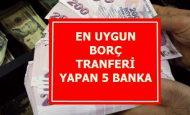 En Uygun Borç Transferi Yapan Banka