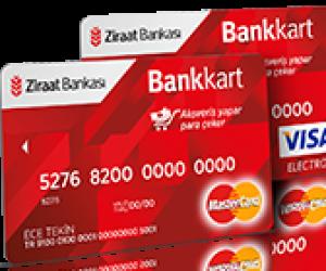 Ziraat Bankası Sanal Kredi Kartı Oluşturma